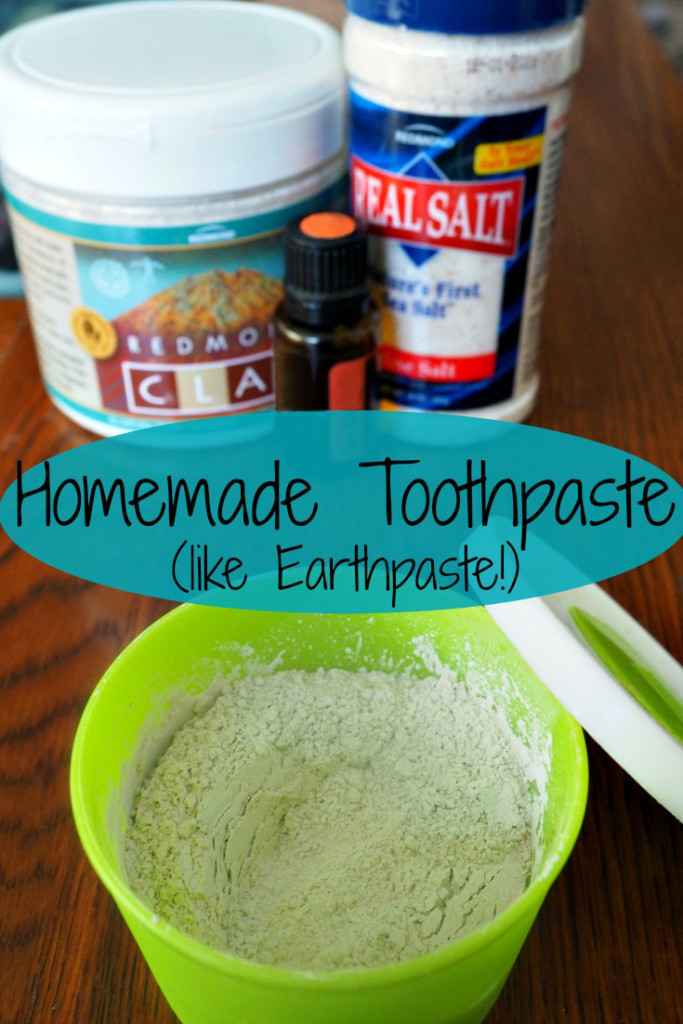 Homemade Toothpaste (DIY Earthpaste) – Phase Nine