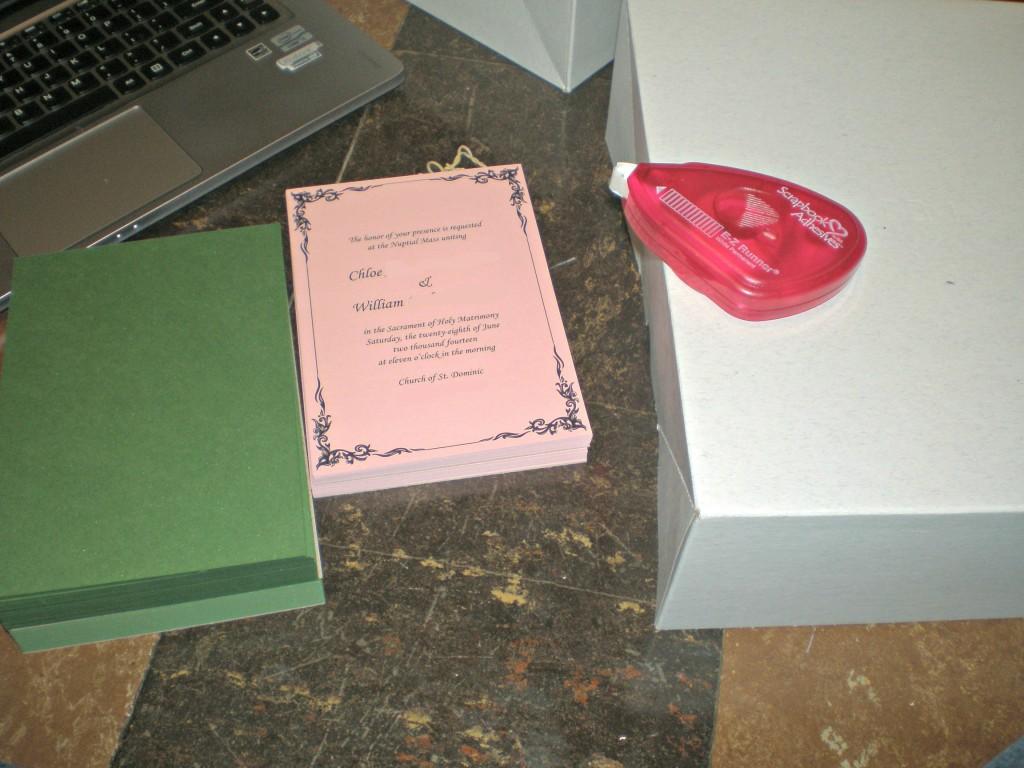 DIY Wedding Invitation | Tutorial