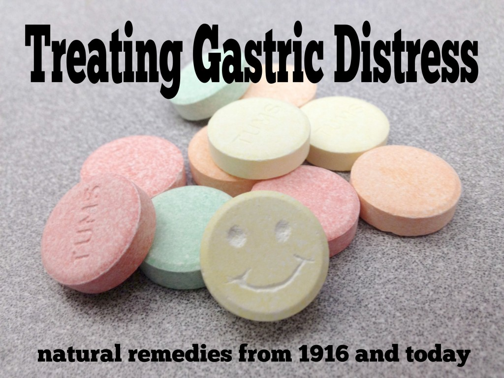 Treating Gastric Distress | Old Medicine
