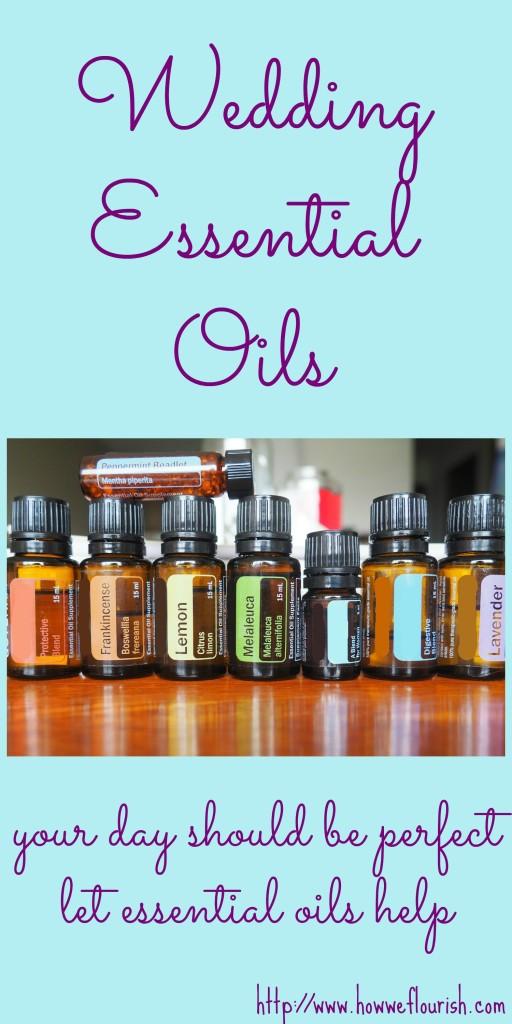 Wedding Essential Oils
