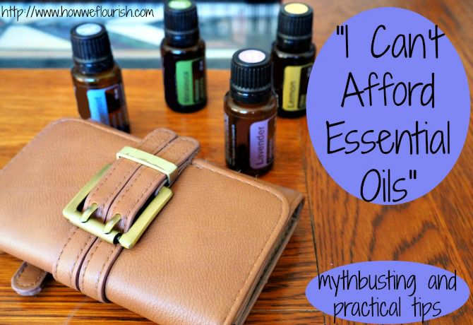 I Can't Afford Essential Oils