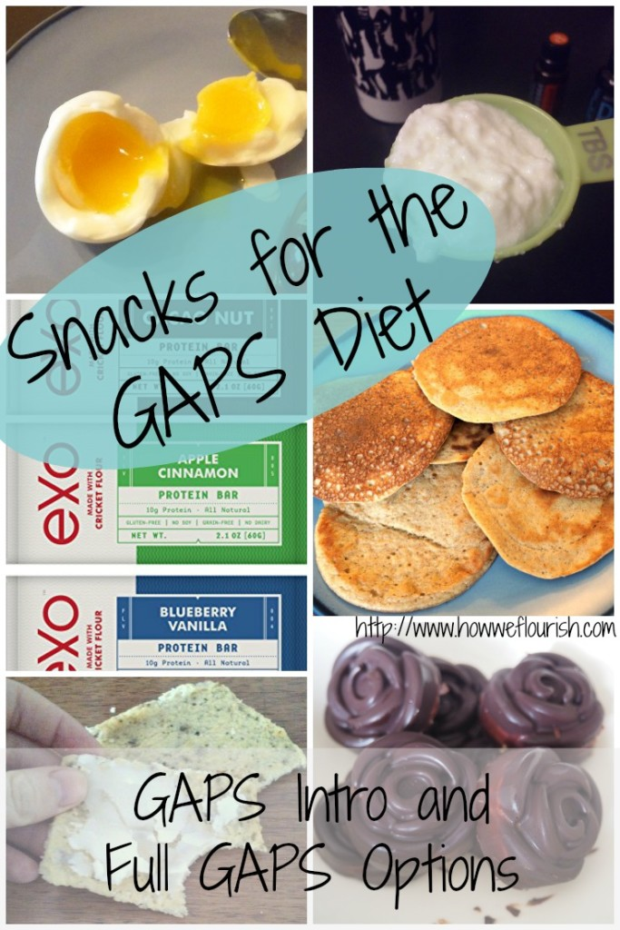 GAPS Diet Snacks (Healthy Snack Ideas for Intro and Full GAPS)