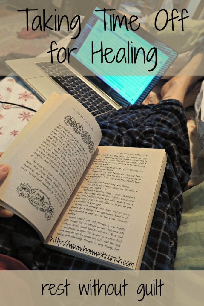 Take Time Off for Healing