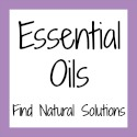 Essential Oils Button