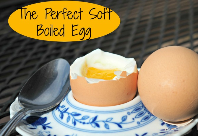 Perfect Soft Boiled Egg