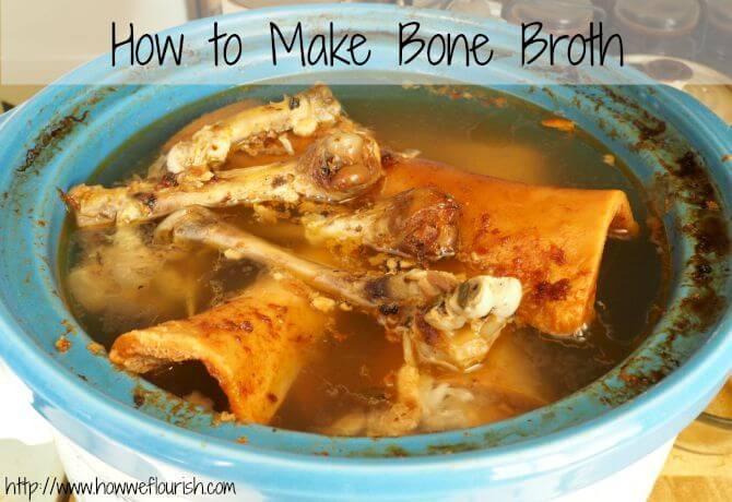 How to Make Bone Broth (and why you should!)