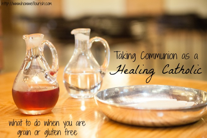 Taking Communion While Grain Free