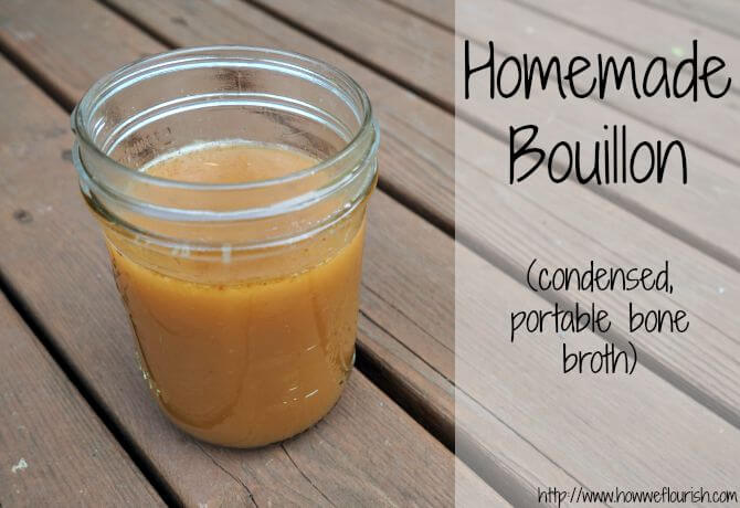 Homemade Bouillon (Condensed, Portable Bone Broth)