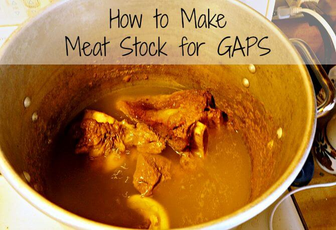 How to Make Meat Stock for Gut Healing