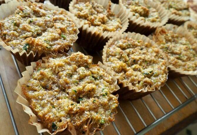 Paleo Zucchini Bread Muffins