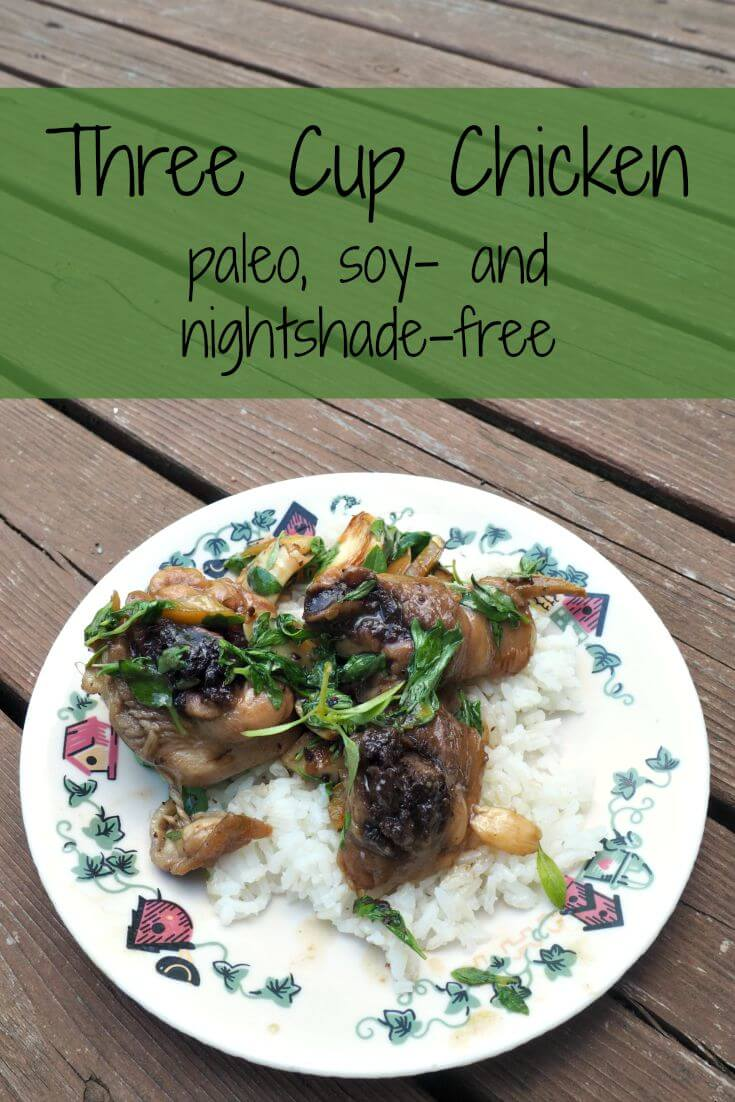 Paleo Three Cup Chicken