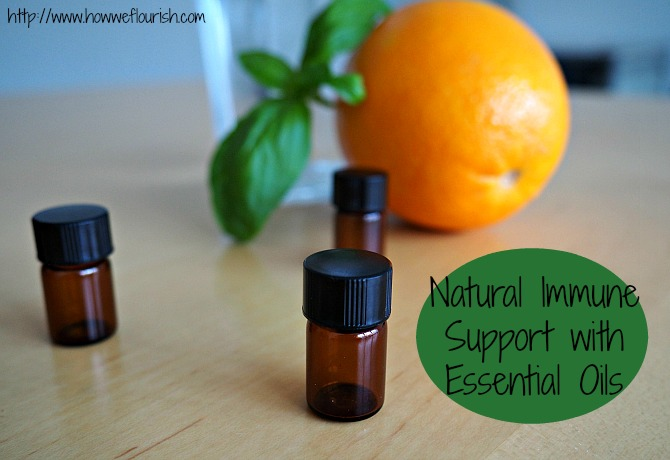 Natural Immune Support with Essential Oils