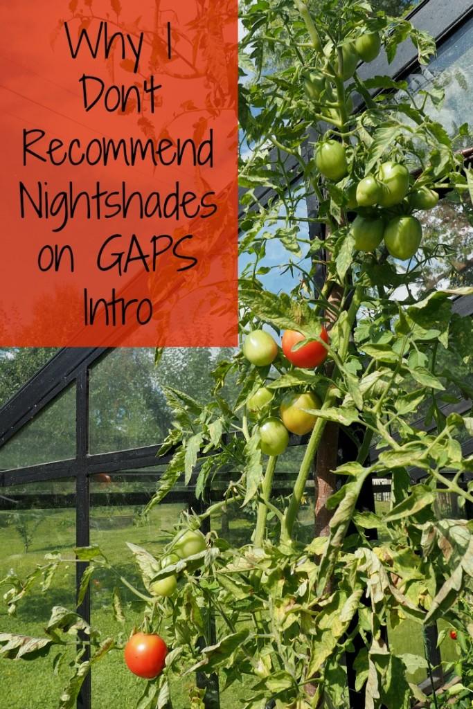 Nightshades on GAPS